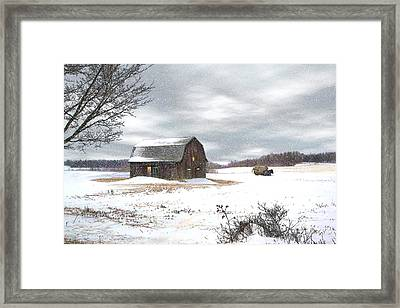 Another Winter Day Framed Print by Gary Smith