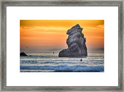 Another World Framed Print by AJ Schibig