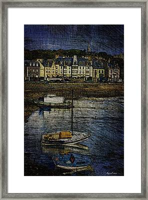 Anse Solidor #b Framed Print by Karo Evans