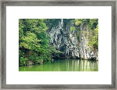 Guizhou Dragon Palace Cave Framed Print