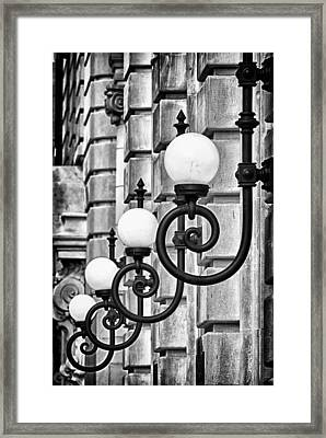 Ansonia Building Detail 20 Framed Print by Val Black Russian Tourchin