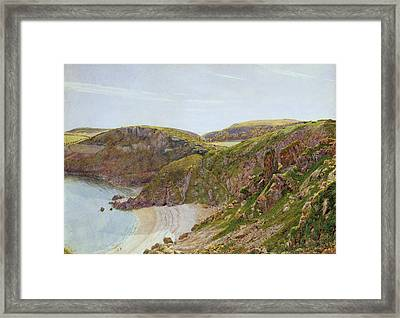 Anstey's Cove Framed Print by George Price Boyce
