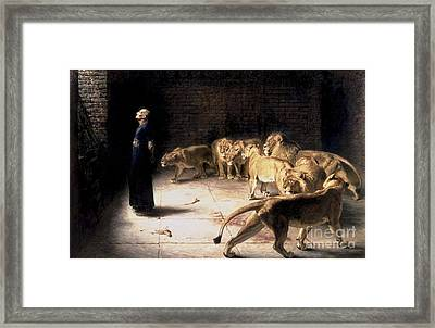 Answer To The King Framed Print