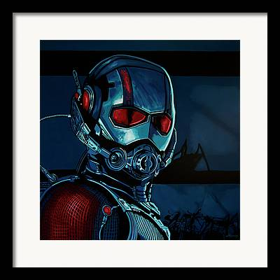Ironman Paintings Framed Prints