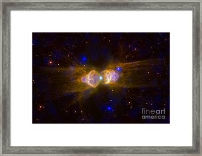 Ant Nebula, Bipolar Planetary Nebula Framed Print by Science Source