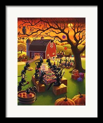 Harvest Time Framed Prints