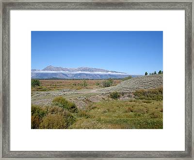 Antalope Flats  Framed Print