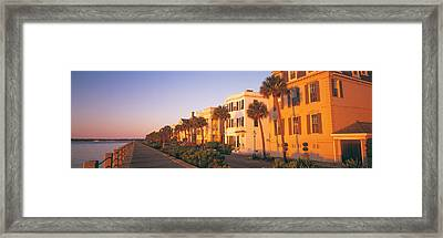Antebellum Architecture Battery Framed Print by Panoramic Images