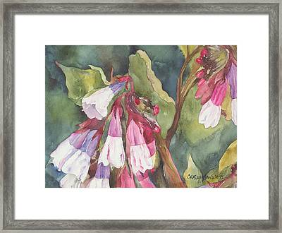 Framed Print featuring the painting Antebellum by Casey Rasmussen White