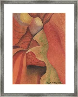 Antelope Canyon 2 Framed Print