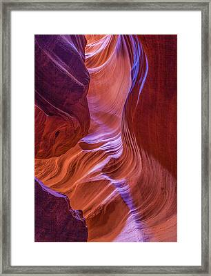 Antelope Canyon Beauty Framed Print