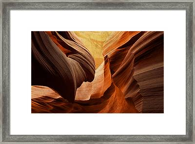 Antelope Canyon Framed Print by Design Turnpike
