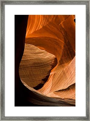 Antelope Canyon No 3 Framed Print