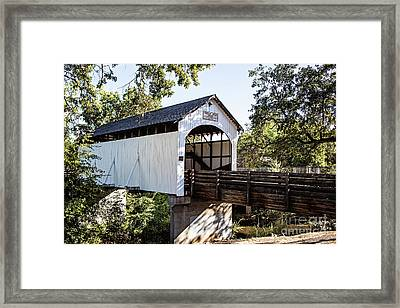 Antelope Creek Bridge Framed Print