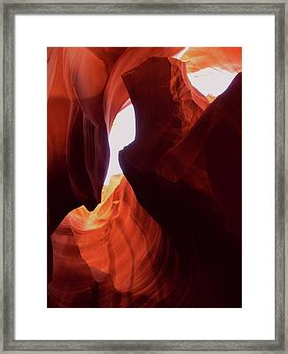 Antelope Slot Canyon  Framed Print by Martina Fagan