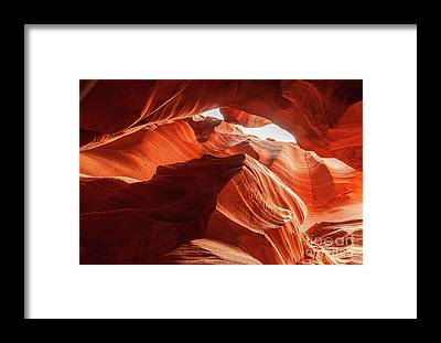 Martin Williams Slot Canyon Framed Prints