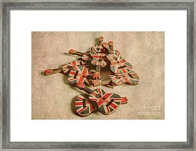 Anthem Of Old England Framed Print