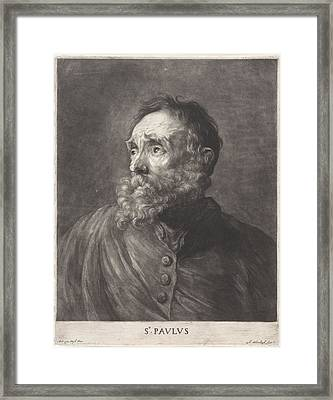 Anthony Van Dyck Framed Print by MotionAge Designs