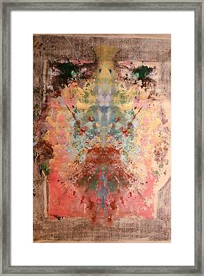 Anthropomorphic Deity Framed Print
