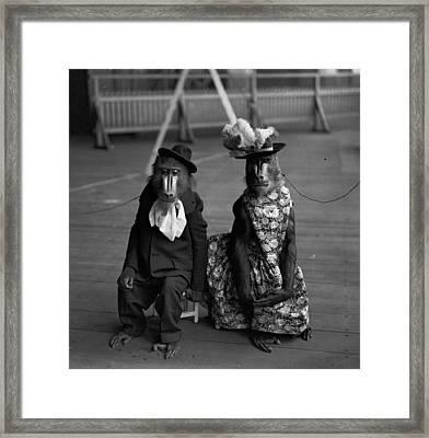 Anthropomorphic Framed Print