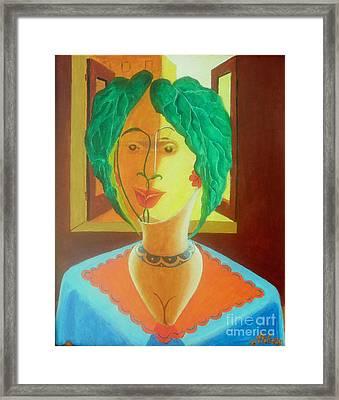Anthrovase Framed Print by David G Wilson