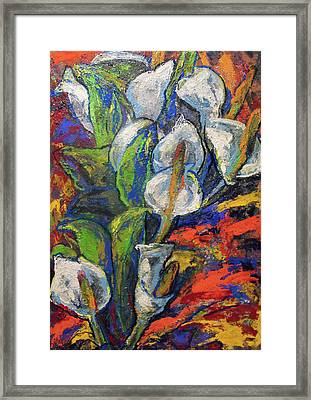 Anthuriums Framed Print