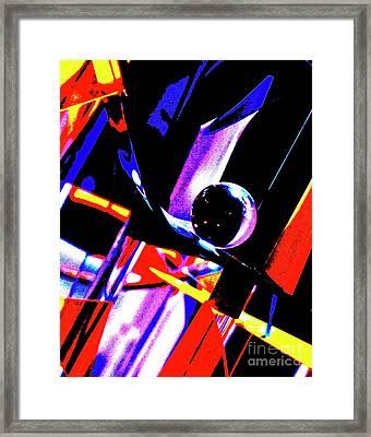 Anti Gravity Framed Print by Xn Tyler