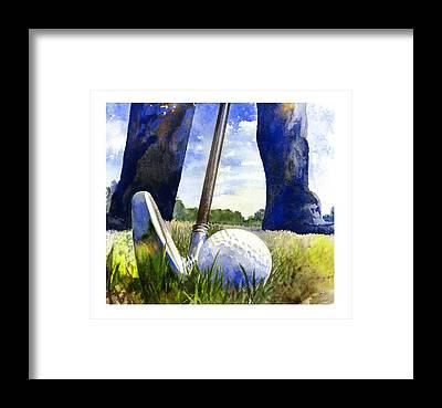 Golf Framed Prints