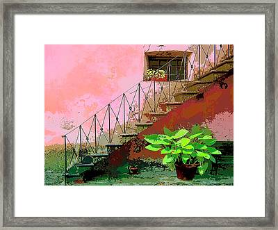 Anticipation Framed Print by Dominic Piperata