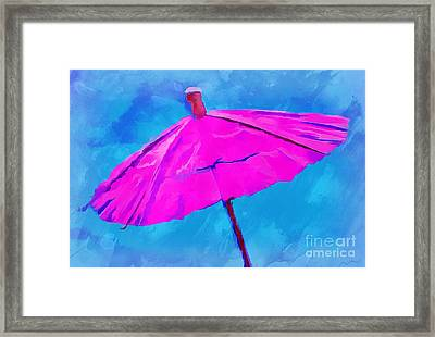 Anticipation Framed Print by Krissy Katsimbras