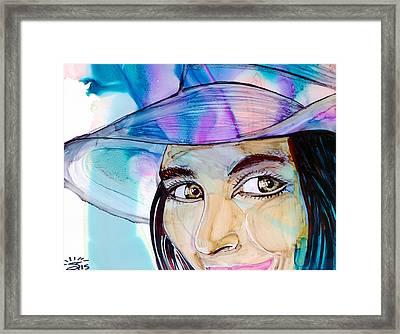 Anticipation Framed Print by Shann Ferreira