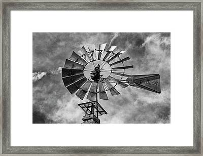 Framed Print featuring the photograph Anticipation by Stephen Stookey