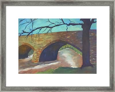 Antietam Creek At Devils Backbone Framed Print by Al Dunsmore
