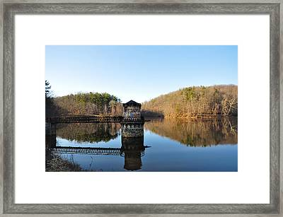 Antietam Creek Framed Print by Bill Cannon