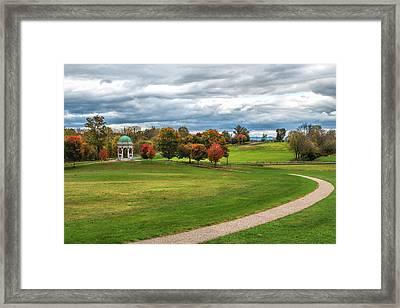 Antietam Maryland State Monument Framed Print by John M Bailey