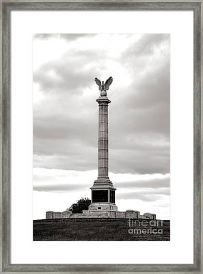 Antietam National Battlefield New York State Monument Framed Print by Olivier Le Queinec