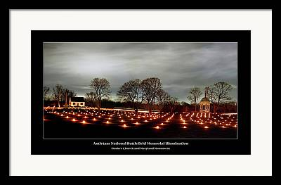 Memorial Illumination Framed Prints