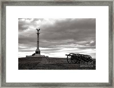 Antietam Silence  Framed Print by Olivier Le Queinec