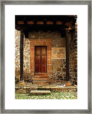 Antiguo Hospital De Santa Maria Framed Print by Mexicolors Art Photography