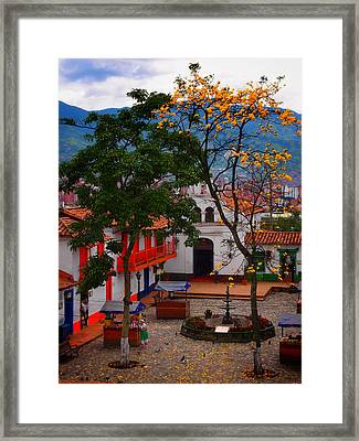 Antioquia Framed Print by Skip Hunt