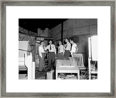 Antiproton Discovery Team, 1955 Framed Print
