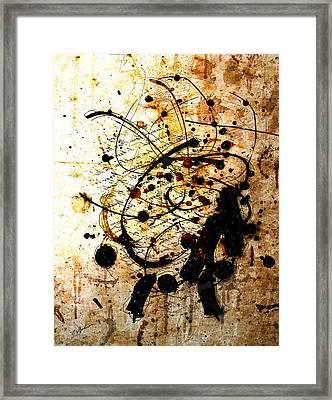 Antiqua Framed Print