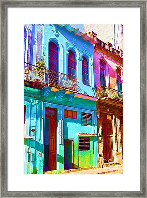 Antiquated Havana Framed Print by Chris Andruskiewicz