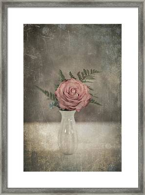 Antiquated Romance Framed Print