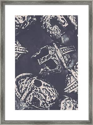Antique Battles Framed Print