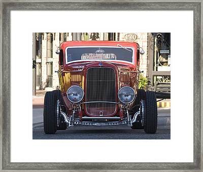 Antique Coup Front End Framed Print