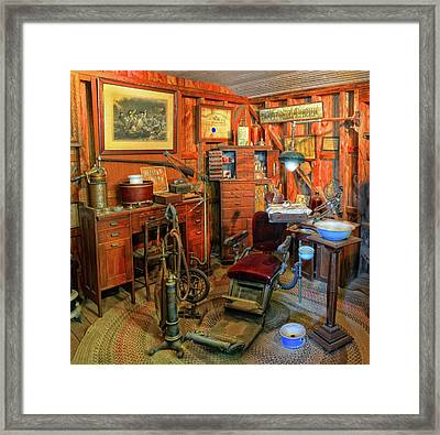 Antique Dental Office Framed Print