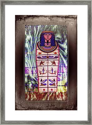 Antique Egyptian Magic Framed Print by Ian Gledhill