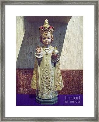 Precious Little King Framed Print by Seaux-N-Seau Soileau