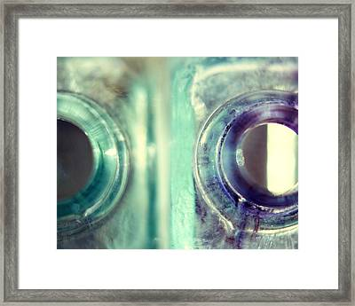 Antique Inkwells Framed Print
